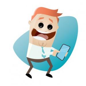 smartphone handy mobiltelefon business mann